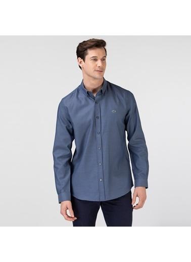 Lacoste Erkek Slim Fit Gömlek CH0101.01L Lacivert